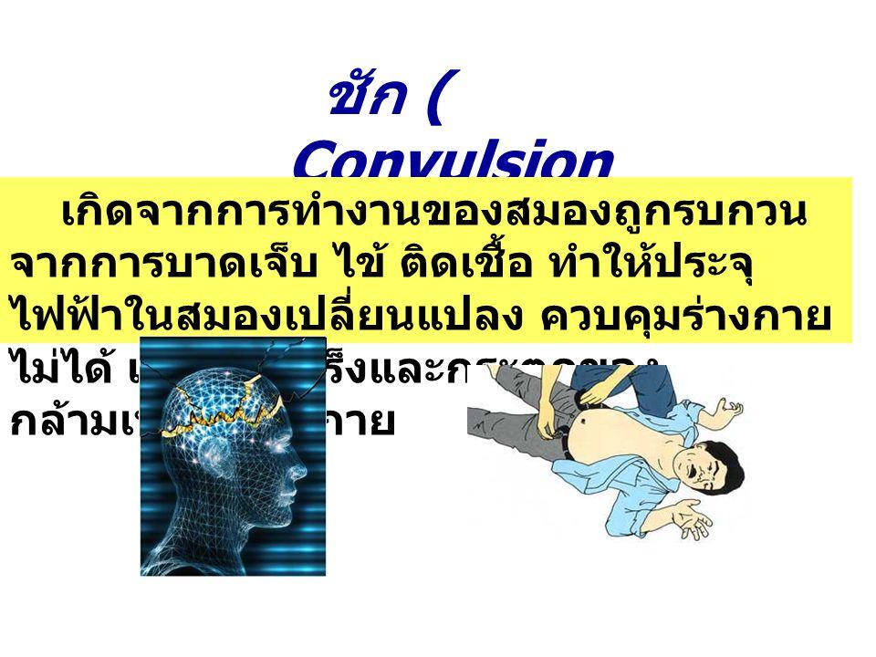 ชัก ( Convulsion)