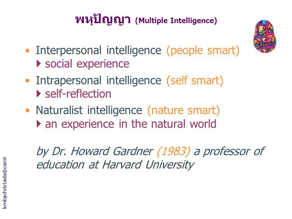 พหุปัญญา (Multiple Intelligence)
