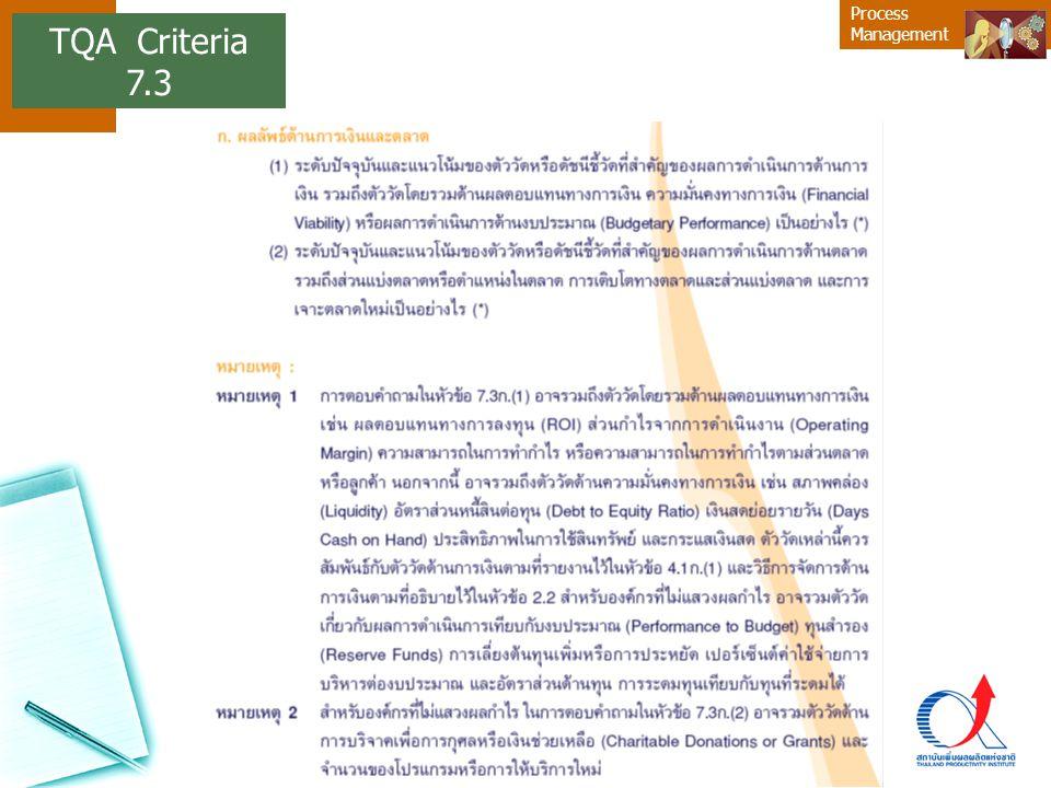 TQA Criteria 7.3 10