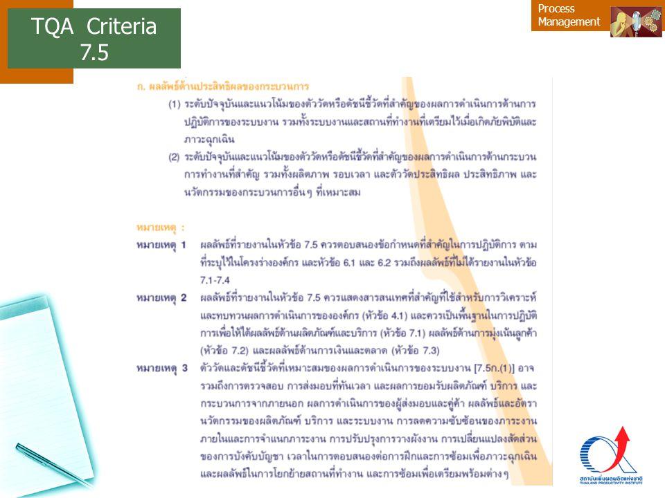 TQA Criteria 7.5 14