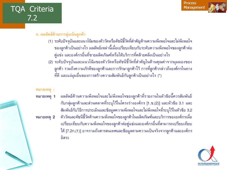 TQA Criteria 7.2 8