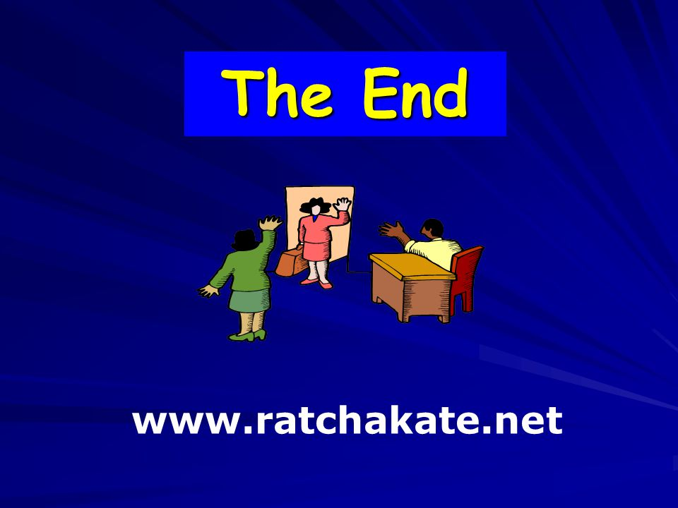 The End www.ratchakate.net