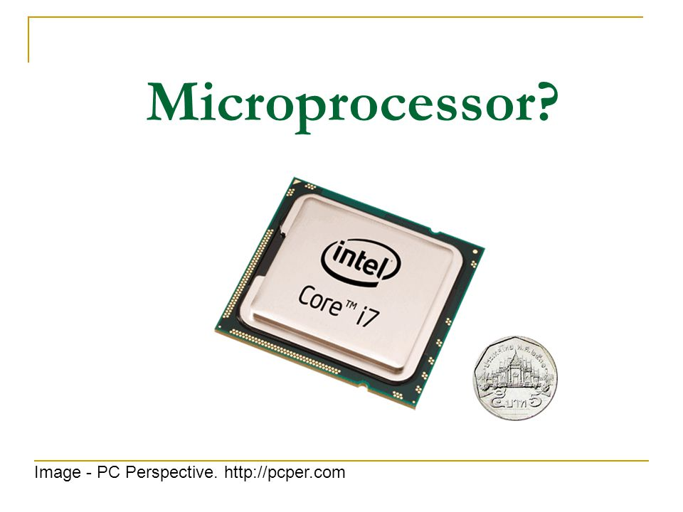 Microprocessor Image - PC Perspective. http://pcper.com