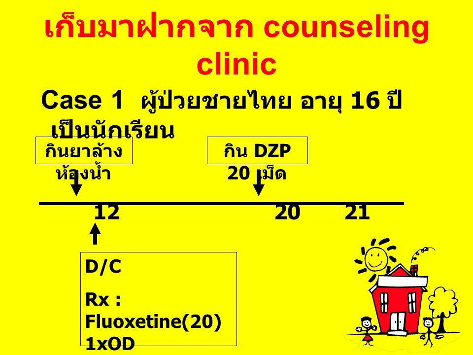 เก็บมาฝากจาก counseling clinic