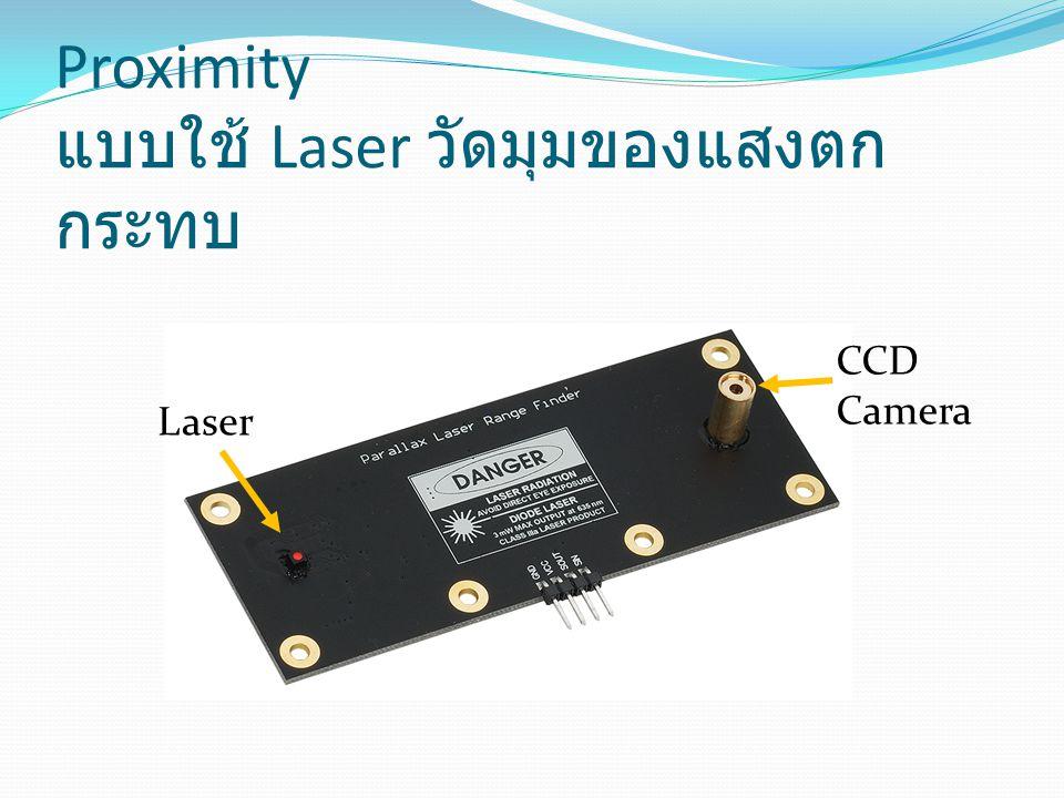 Proximity แบบใช้ Laser วัดมุมของแสงตกกระทบ