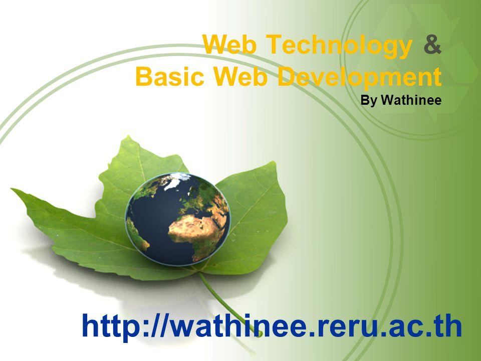 Web Technology & Basic Web Development