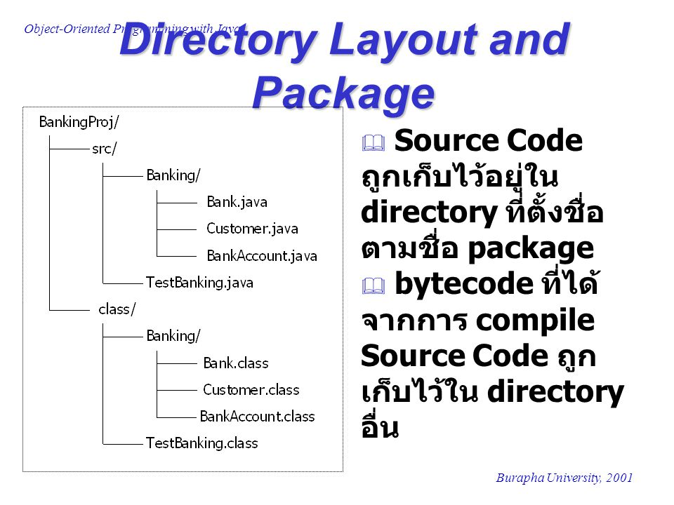 Directory Layout and Package