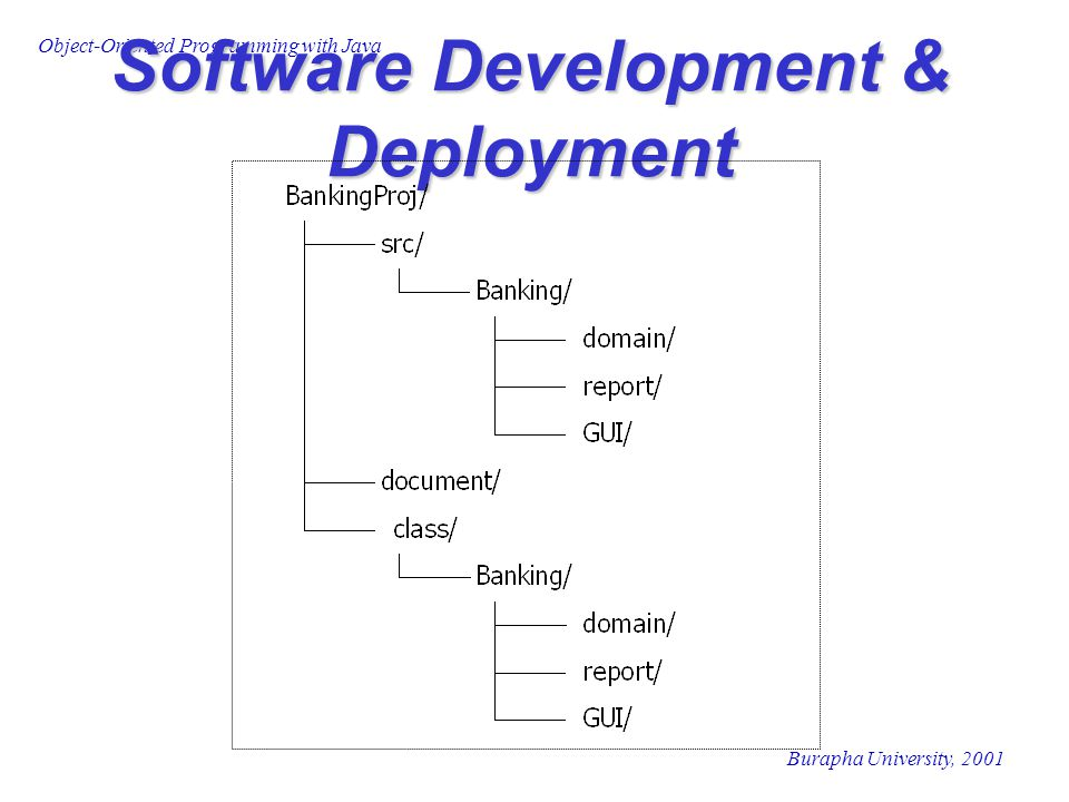 Software Development & Deployment