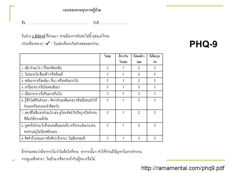 PHQ-9 http://ramamental.com/phq9.pdf