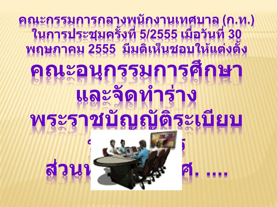 คณะกรรมการกลางพนักงานเทศบาล (ก. ท