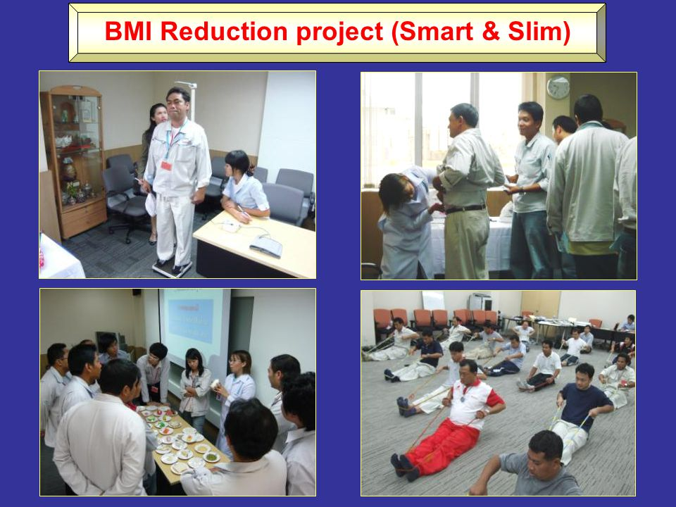 BMI Reduction project (Smart & Slim)