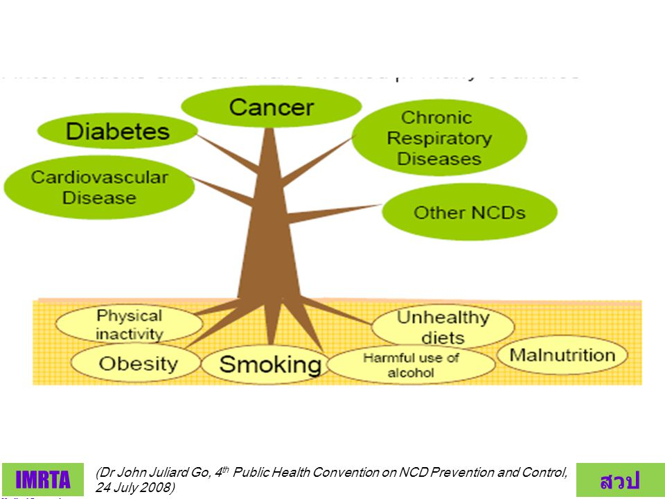 (Dr John Juliard Go, 4th Public Health Convention on NCD Prevention and Control, 24 July 2008)