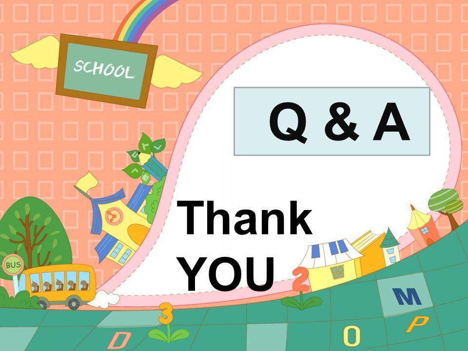 Q & A Thank YOU