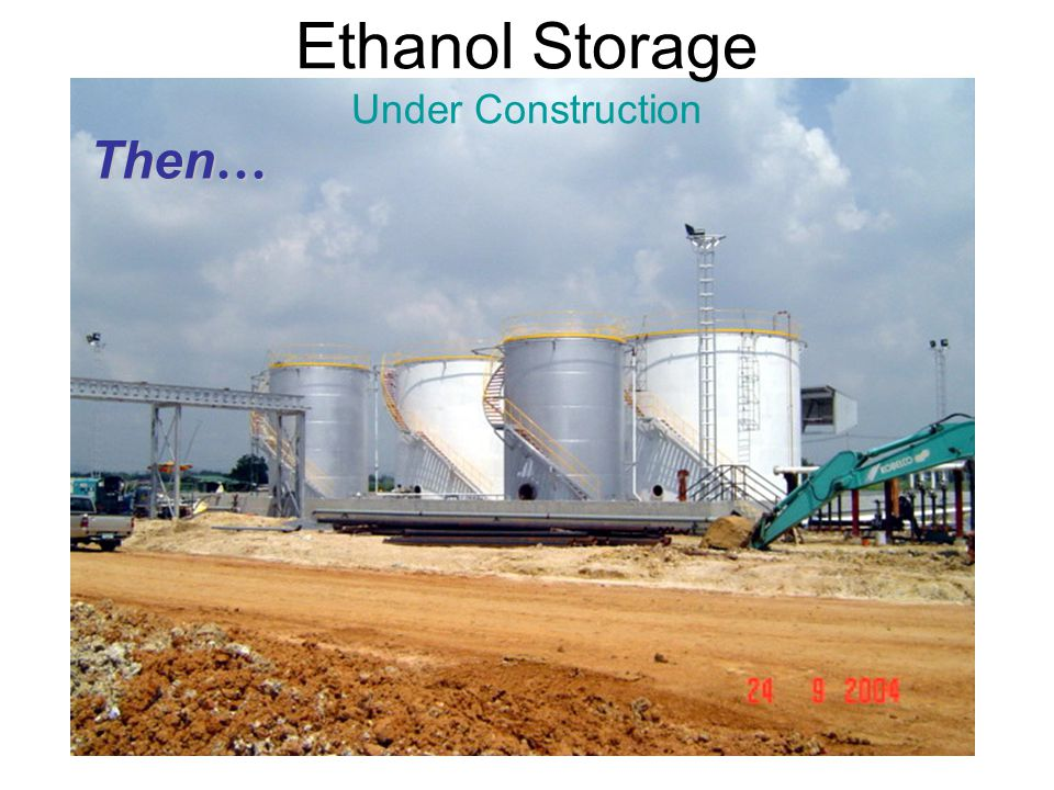 Ethanol Storage Under Construction
