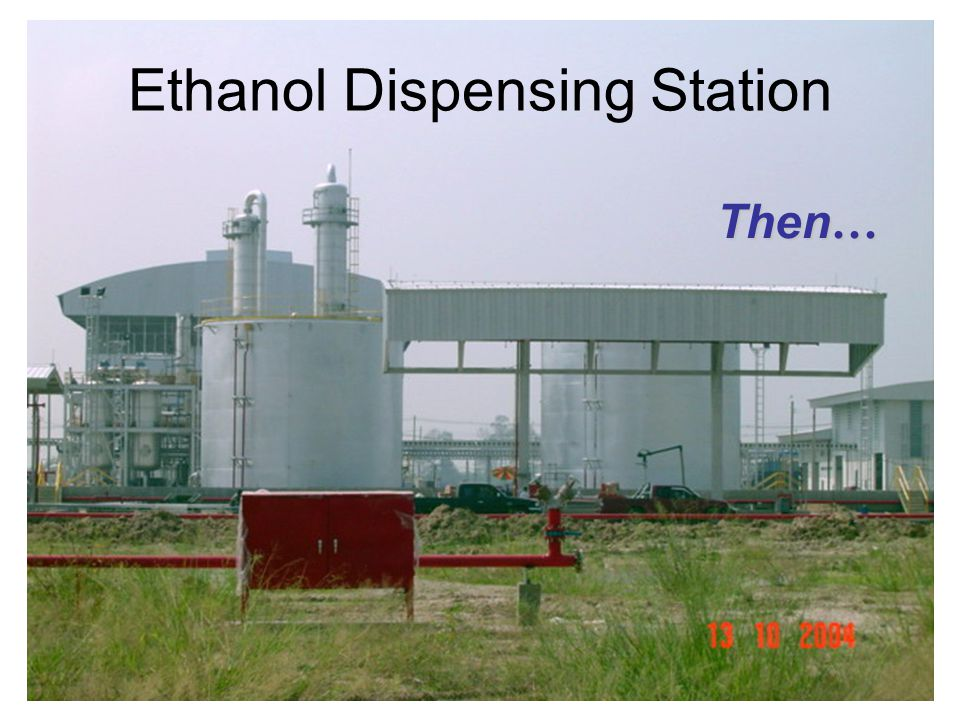 Ethanol Dispensing Station