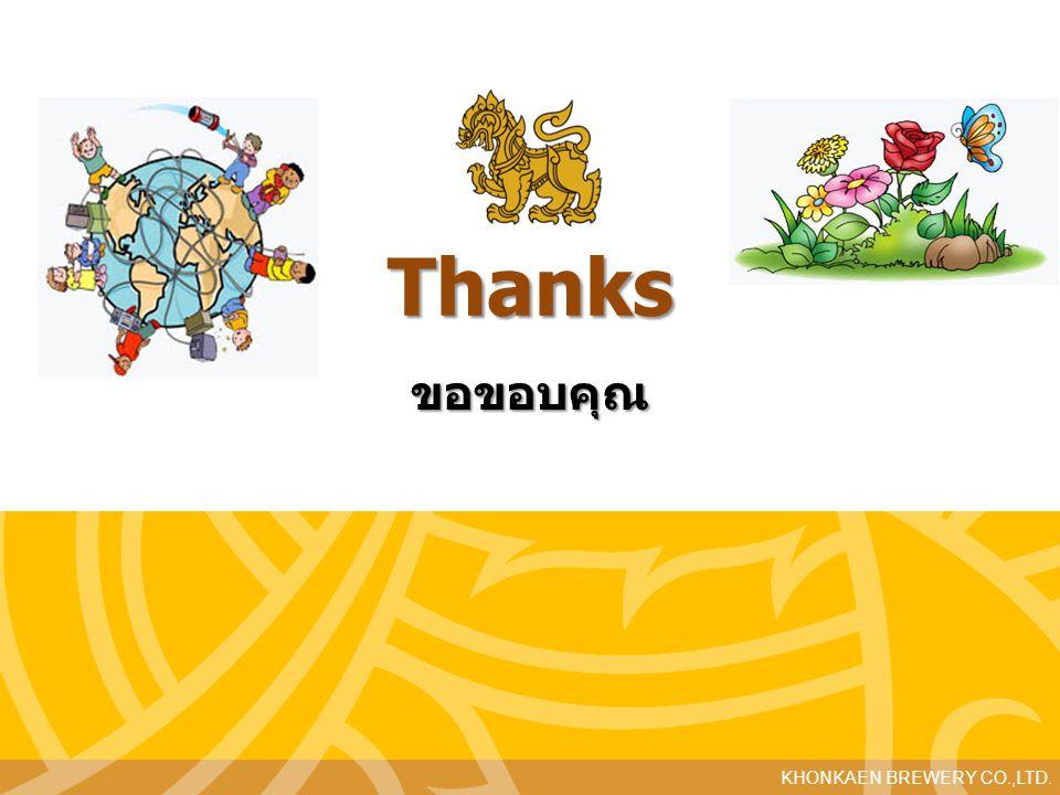 Thanks ขอขอบคุณ