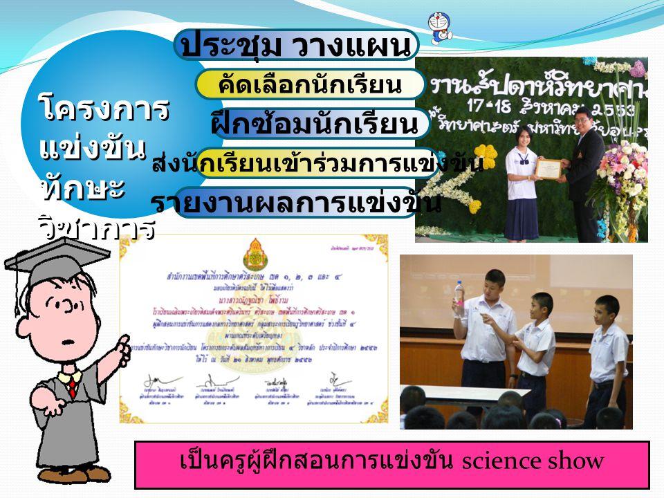 ส่งนักเรียนเข้าร่วมการแข่งขัน