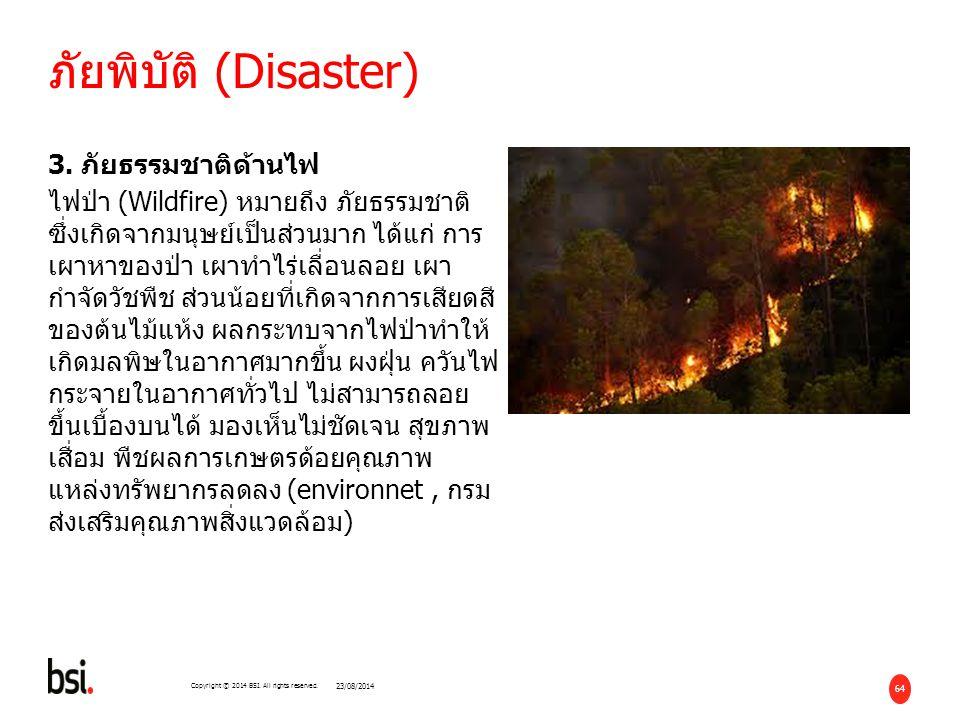 05/04/2017 ภัยพิบัติ (Disaster)