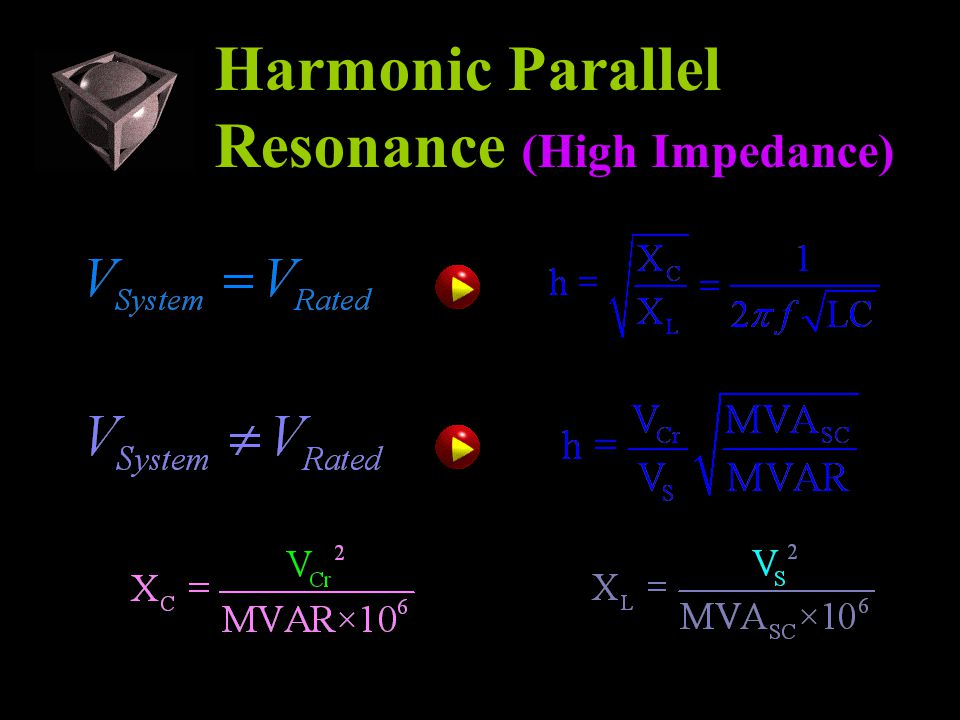 Harmonic Parallel Resonance (High Impedance)
