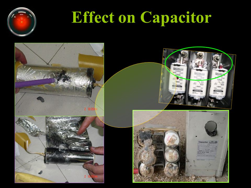 Effect on Capacitor