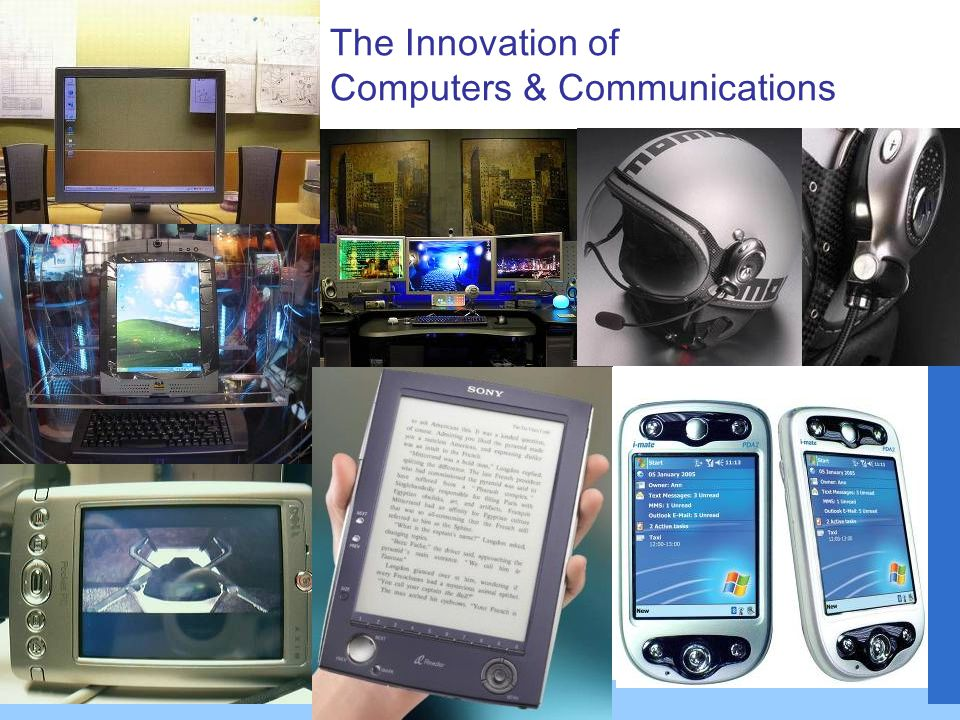 The Innovation of Computers & Communications