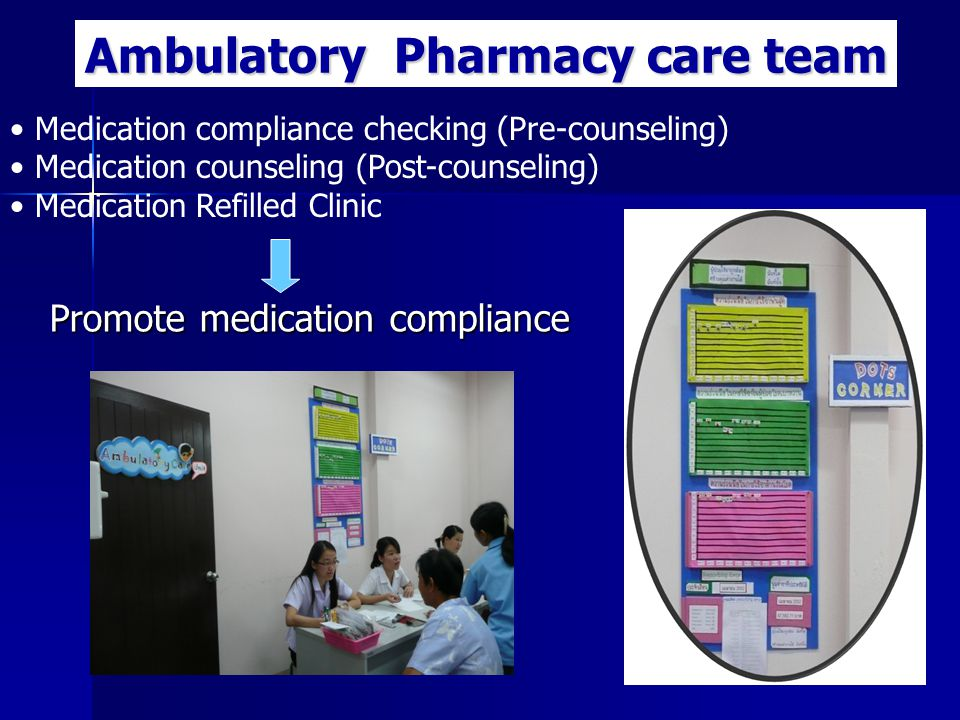 Promote medication compliance