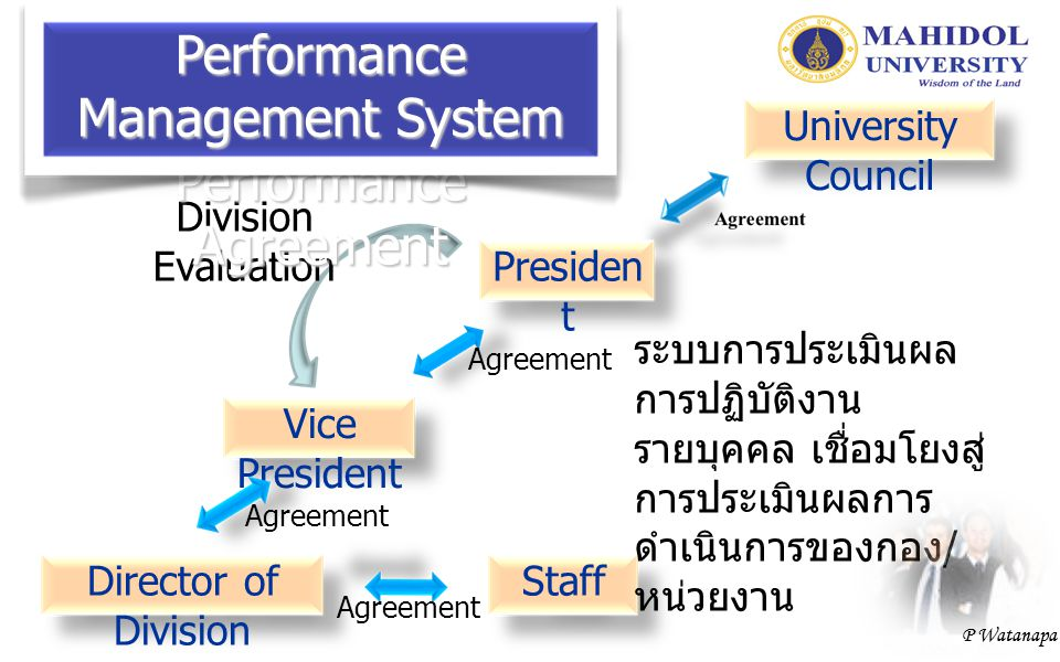 Performance Management System Performance Agreement
