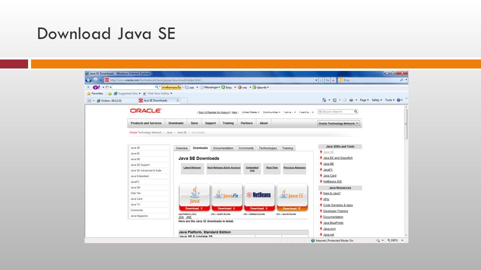 Download Java SE