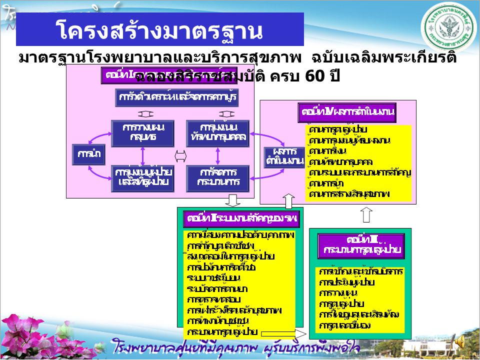 โครงสร้างมาตรฐาน HA/HPH (2006)