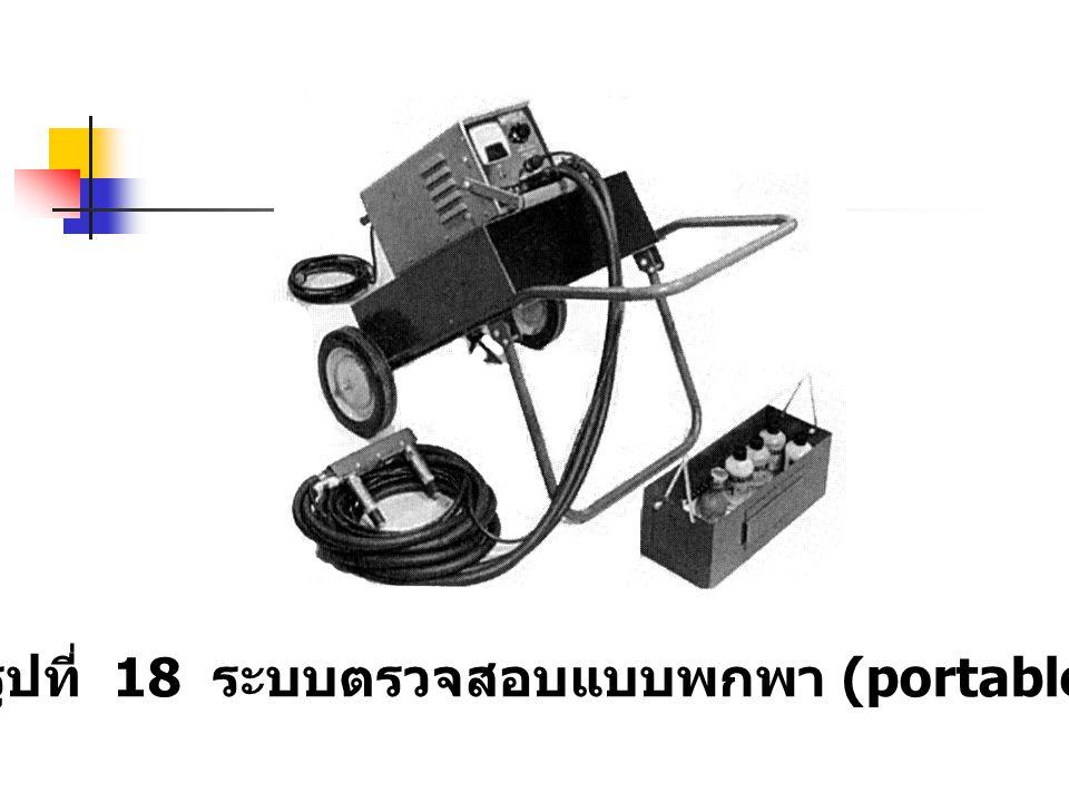 รูปที่ 18 ระบบตรวจสอบแบบพกพา (portable)