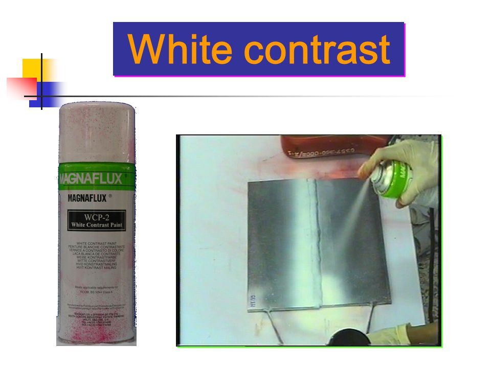 White contrast