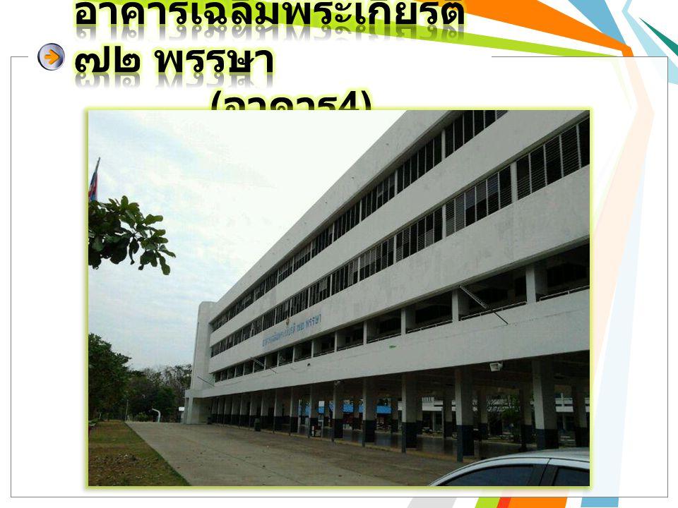 อาคารเฉลิมพระเกียรติ ๗๒ พรรษา (อาคาร4)