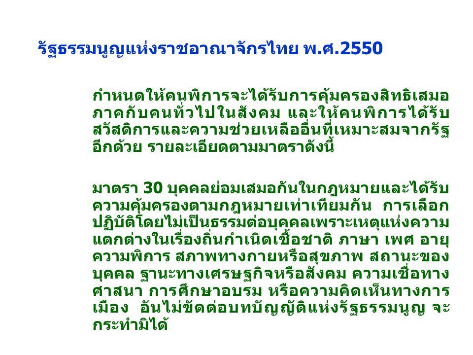 รัฐธรรมนูญแห่งราชอาณาจักรไทย พ.ศ.2550