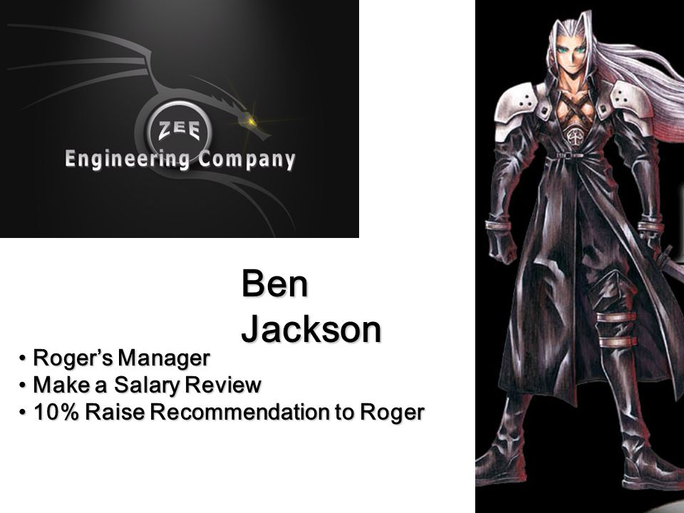 Ben Jackson Roger's Manager Make a Salary Review