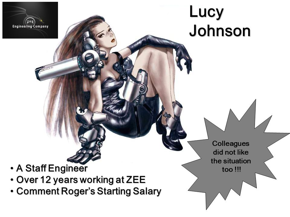 Lucy Johnson A Staff Engineer Over 12 years working at ZEE