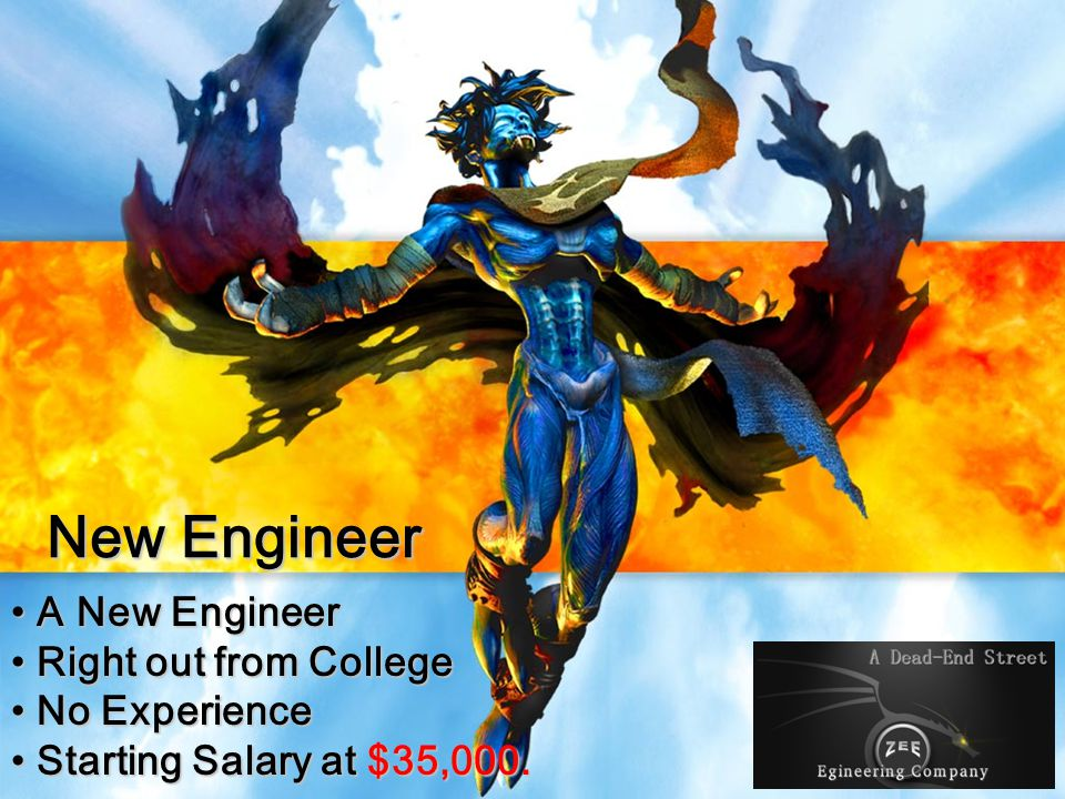 New Engineer A New Engineer Right out from College No Experience