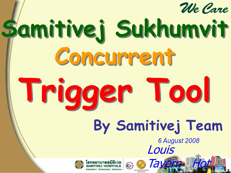 Trigger Tool Samitivej Sukhumvit Concurrent By Samitivej Team