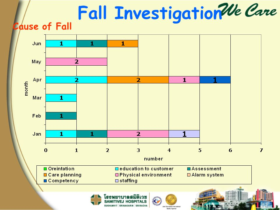 Fall Investigation Cause of Fall