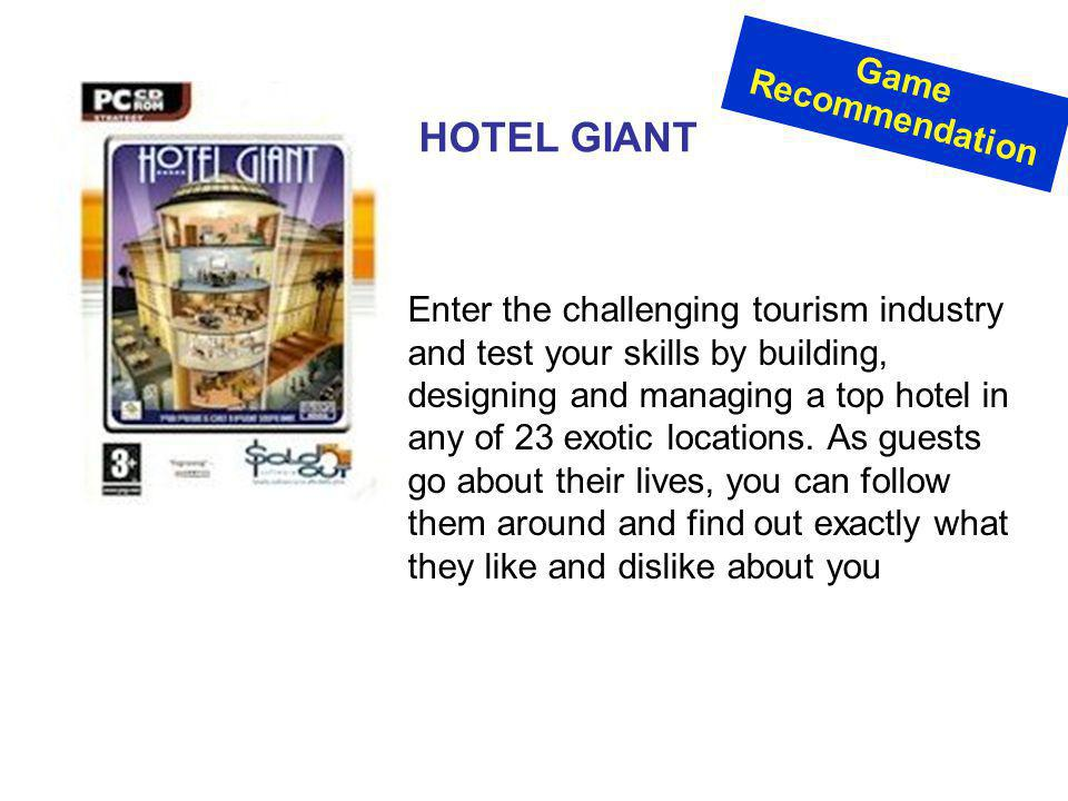 HOTEL GIANT Game Recommendation