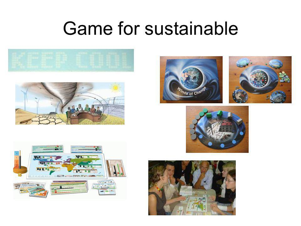 Game for sustainable