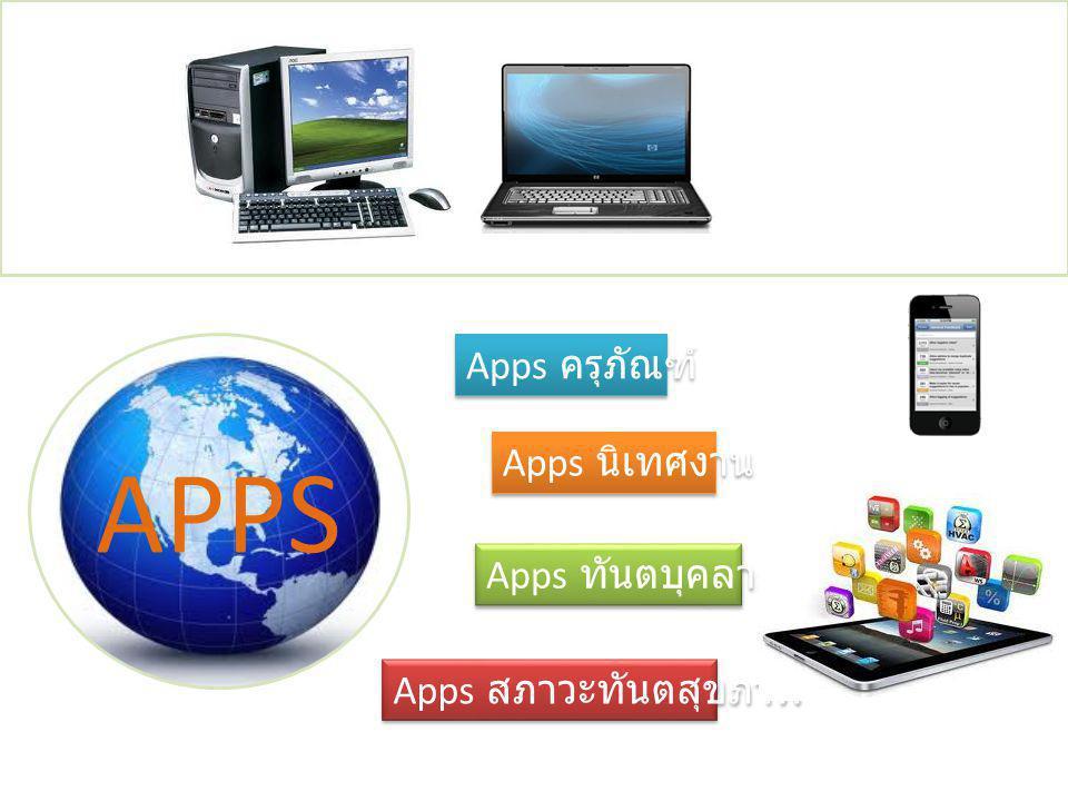 APPS Apps ครุภัณฑ์ Apps นิเทศงาน Apps ทันตบุคลากร Apps สภาวะทันตสุขภาพ