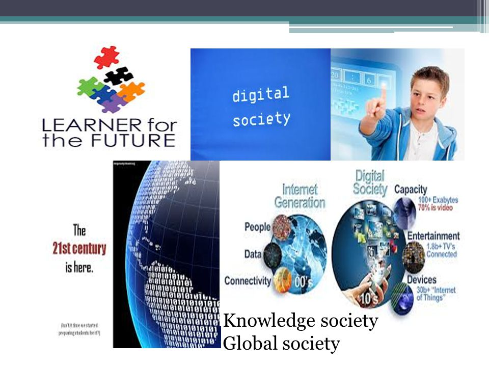 Knowledge society Global society