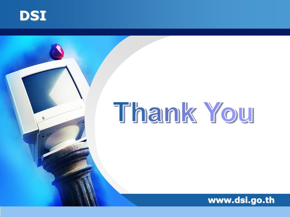 Thank You www.dsi.go.th