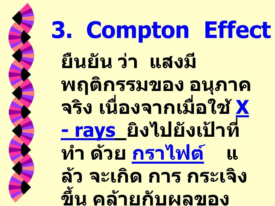3. Compton Effect