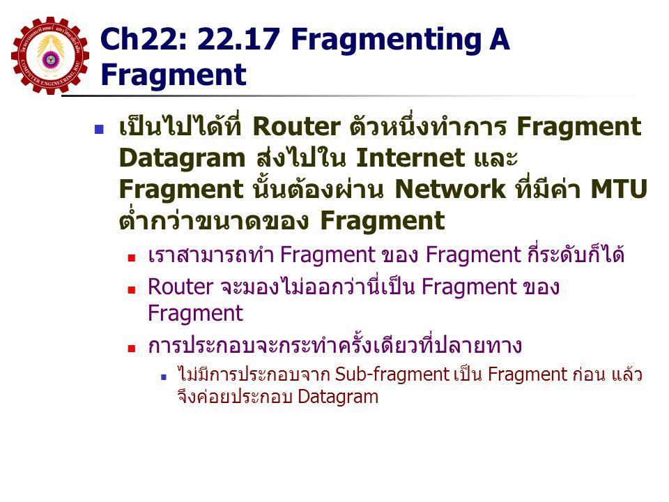 Ch22: 22.17 Fragmenting A Fragment