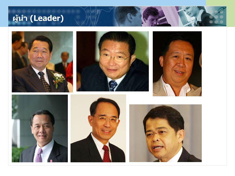 ผู้นำ (Leader)
