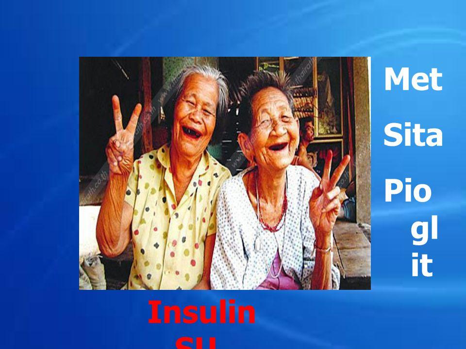 Met Sita Pioglit Insulin SU