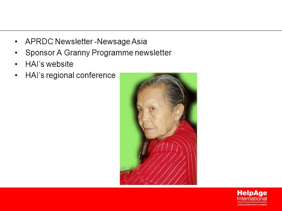 APRDC Newsletter -Newsage Asia