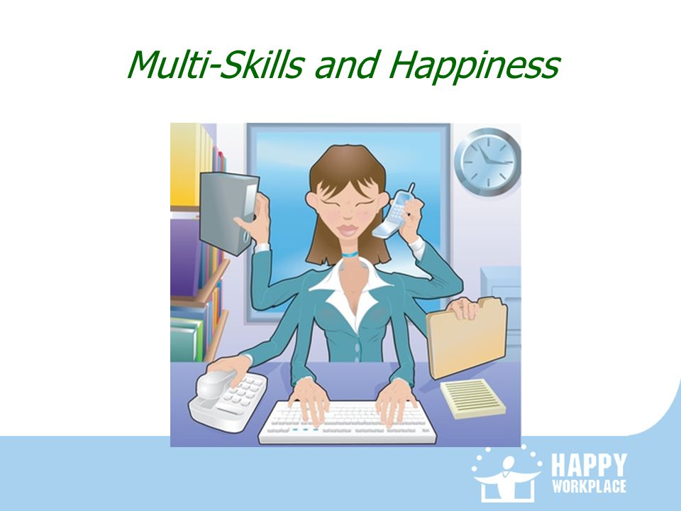 Multi-Skills and Happiness