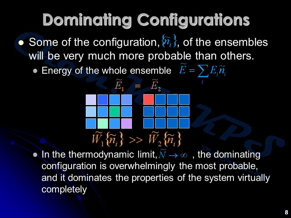Dominating Configurations